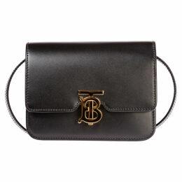 Burberry Leather Cross-body Messenger Shoulder Bag Tb