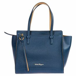 Salvatore Ferragamo Leather Shoulder Bag Amy