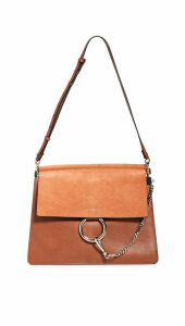 What Goes Around Comes Around Chloe Faye Medium Flap Shoulder Bag