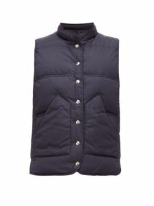 Gabriela Hearst - Anthony Reversible Quilted Gilet - Womens - Navy