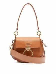 Chloé - Tess Small Textured Leather Cross Body Bag - Womens - Tan