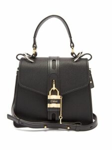 Chloé - Aby Small Leather Shoulder Bag - Womens - Black
