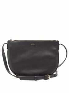 A.p.c. - Maelys Leather Cross Body Bag - Womens - Black