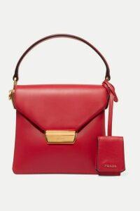 Prada - Ingrid Small Leather Shoulder Bag - Red