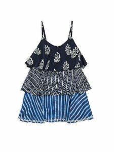 Little Girl's & Girl's Frill Dress