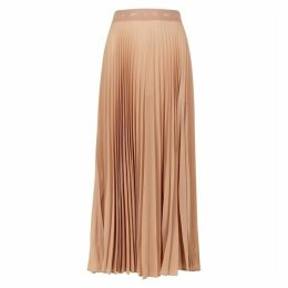 Reebok X Victoria Beckham Blush Plissé Midi Skirt
