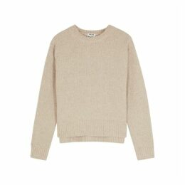 Acne Studios Oatmeal Wool-blend Jumper
