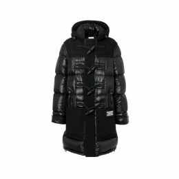 Burberry Technical Wool Detail Puffer Duffle Coat
