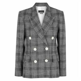 Isabel Marant Dallin Checked Wool-blend Blazer