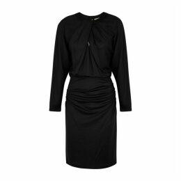 Diane Von Furstenberg Bitsy Black Stretch-jersey Dress