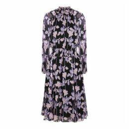 Diane Von Furstenberg Athena Floral-print Silk Midi Dress