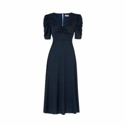 Kitri Serafina Navy Vintage Maxi Dress