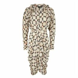 Isabel Marant Blandine Printed Silk Crepe De Chine Midi Dress
