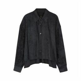 Isabel Marant Fanao Anthracite Corduroy Shirt