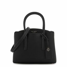 Kate Spade New York Margaux Medium Black Leather Shoulder Bag