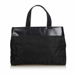 Prada Black Nylon Tote Bag