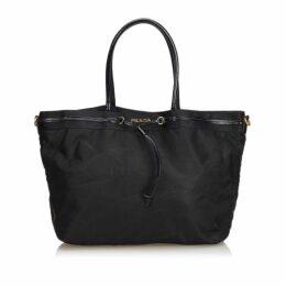 Prada Black Nylon Tote Bag