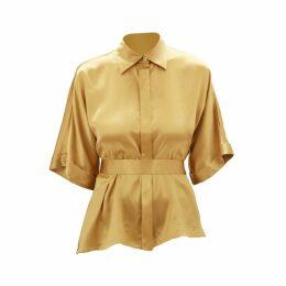MASTANI - Yafiz Shirt In Amber