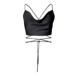 Hayley Menzies - Tigress Knit Coat - Black White