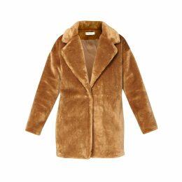 PAISIE - Oversized Soft Teddy Coat