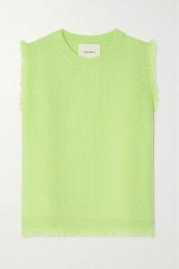 Rosie Assoulin - Reversible Tie-front Striped Cotton-blend Poplin Shirt - White