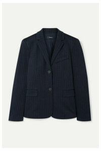 Theory - Striped Jacquard Blazer - Black
