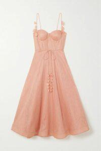 Cecilie Bahnsen - Tina Taffeta Midi Skirt - Black