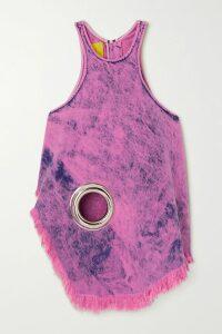Dries Van Noten - Dolfi Floral-print Crepe Maxi Dress - Black