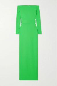 Chloé - Tie-neck Draped Silk Crepe De Chine Blouse - Red