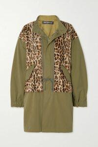 Petar Petrov - Draped Metallic Fil Coupé Silk-blend Chiffon Dress - Black