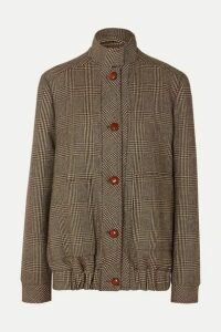 Giuliva Heritage Collection - Diana Prince Of Wales Checked Merino Wool Jacket - Brown