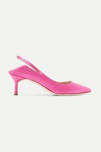 Lauren Manoogian - Belted Mélange Knitted Coat - Brown