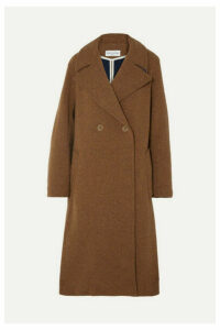 Sonia Rykiel - Oversized Convertible Wool Coat - Camel