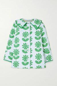 Diane von Furstenberg - Athena Floral-print Silk-georgette Midi Dress - Purple