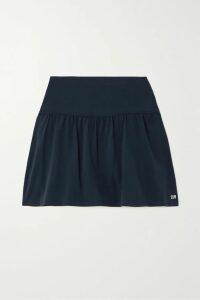 Salvatore Ferragamo - Belted Cashmere And Silk-blend Coat - Ivory