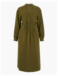 M&S Collection Waisted Midi Dress
