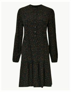 M&S Collection Ditsy Print Relaxed Mini Dress