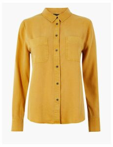 M&S Collection Tencel Relaxed Fit Shirt