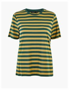 Autograph Striped Relaxed Fit T-Shirt