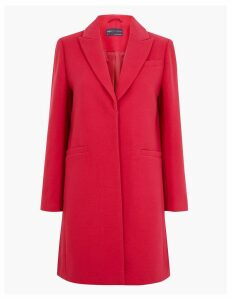 M&S Collection PETITE Soft Touch City Coat