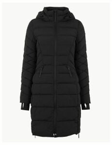 M&S Collection Comfort Stretch Padded Coat