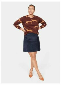 Leopards print sweater