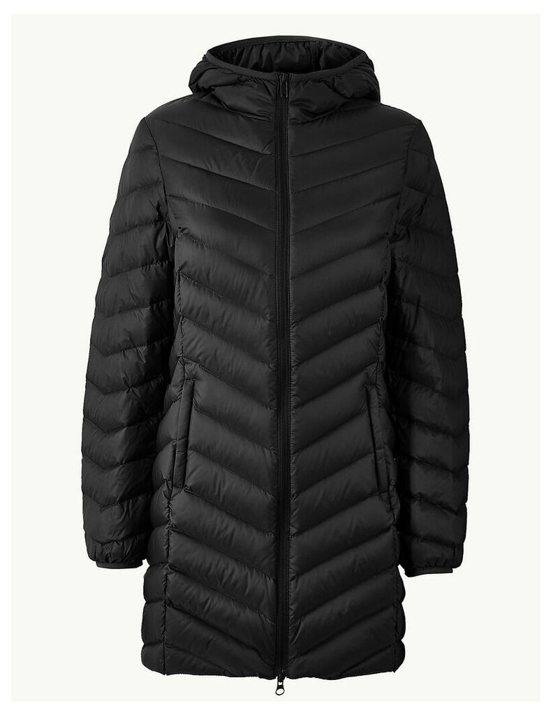 M&S Collection Lightweight Down & Feather Coat