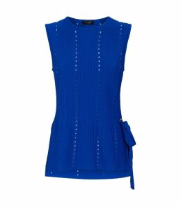 Eyelet Knitted Jehsii Top
