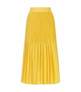 Pleated Ken Mini Skirt