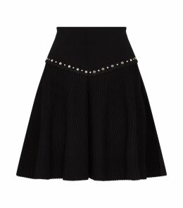 Embellished Knit Skirt