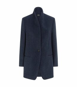 Wool-Blend Felicie Coat