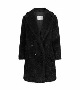 Lurex Teddy Coat