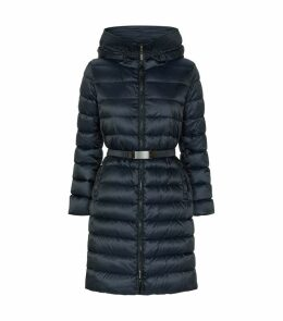 Mid-Length Reversible Padded Down Coat