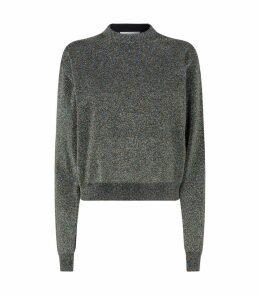 Metallic Effect Sweater
